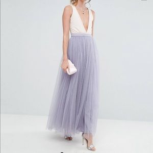 Little mistress tall Maxi tulle prom skirt